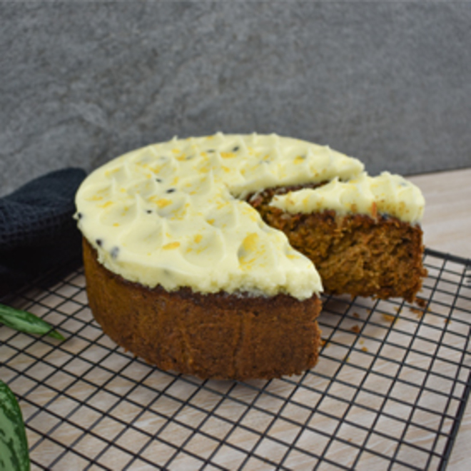 Carrot and Passionfruit Cake image 0