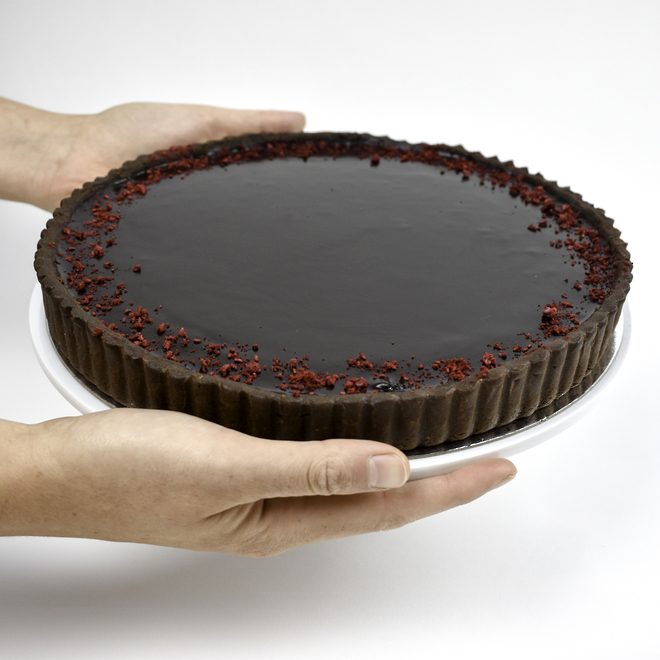 Chocolate and Raspberry Tart image 0