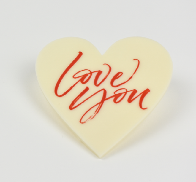 Love You Chocolate Plaque image 0