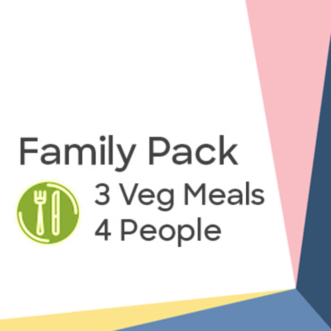 Family Pack - Vegetarian Hearty Meals image 0