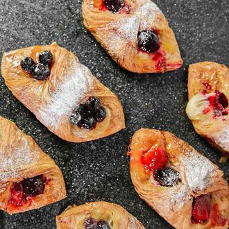 Berry Danishes