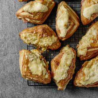 Filled Ham and Cheese Croissants 4pc