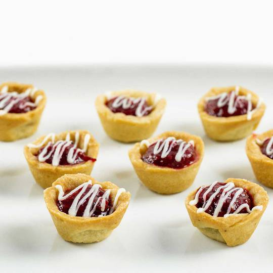 Petit Forest Berry Mini Tarts