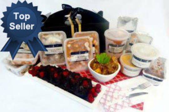 The Deluxe Fresh & Frozen Giftcare Hamper