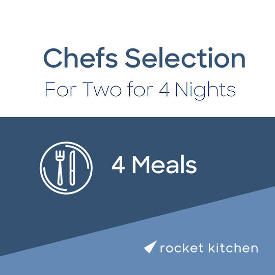 Chef's Selection for Two (4 Meals)