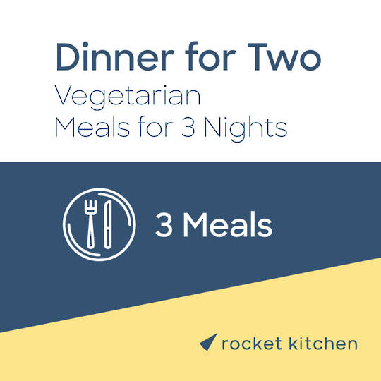Dinner for Two Vegetarian (3 Meals)