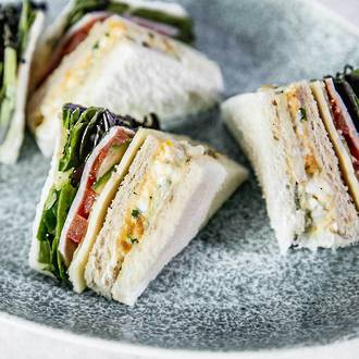 Petit Club Sandwiches