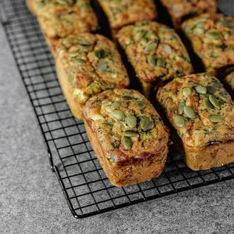 Spinach and Feta Loaves