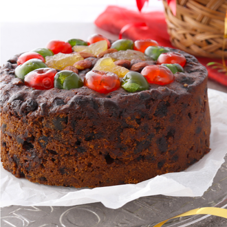 "7"" Traditional Christmas Cake"