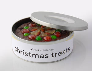 Christmas Cake in a Tin – 7""